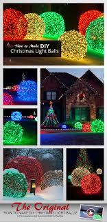 Lighted Christmas Ornaments Ball How To Make Christmas Light Balls Decorating With
