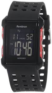 armitron men s 408177red chronograph black and red digital sport armitron men s 408177red chronograph black and red digital sport watch > list price 29 99 >