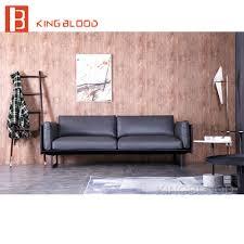 Kopen Goedkoop Sofa Uit China Pure Grijs Lederen Woonkamer Meubels