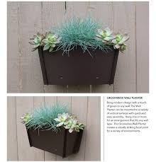 14 inch indoor planter new 1000 ideas about wall mounted planters on