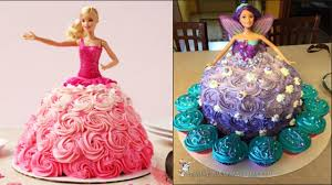 Top 5 Barbie Cake Tutorial Compilation 2017 Cake Style Most