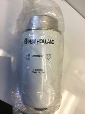 tractor parts in brand new holland, compatible equipment make case new holland fuel filter 47797858 cnh new holland fuel filter part 87801285
