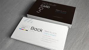 Free Psd Business Card Templates 20 Free Psd Print Ready Business Card Templates