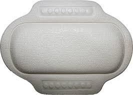 <b>Подголовник для ванны Bacchetta</b> 25х34 белый купить в ...