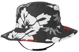 Phụ kiện bé trai 2-5 tuổi : (Gymboree) Mũ rộng vành 2 mặt có quai dán đen