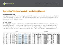Track Sales Leads How To Track And Validate Website Sales Leads