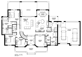 1 5 story house plans with walkout basement lovely country estate