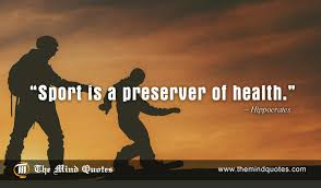 Hippocrates Quotes On Sports And Health Themindquotes Unique Sports Quotes