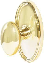 Emtek Egg Brass Door Knob - Shop Door Knobs at Homestead Hardware.com