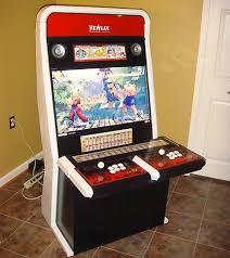 amazing homemade street fighter 4 arcade cabinet techeblog