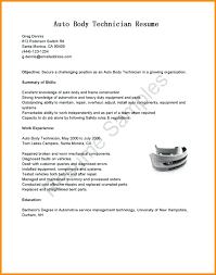 Stunning Auto Body Technician Cover Letter Gallery Coloring 2018