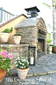 outdoor stone fireplace images grill designs kits uk