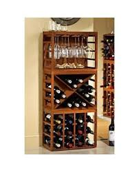 standing wine rack. Cube Stack Wine Bottle \u0026 Stemware Rack Set Standing O