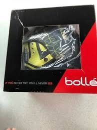 Details About Bolle Millennium Adult Ski Snowmobile Helmet Soft Grey Yellow Iceberg 58 61 Cm