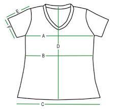 Short Sleeve V Neck Size Chart Organic Attire Organically