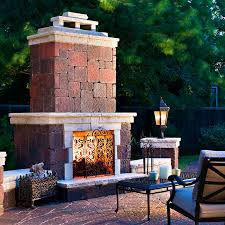 outdoor fireplaces firepits