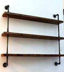 metal and wood wall shelves design intended for the shelf wooden