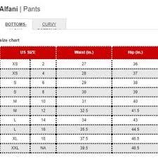 Alfani Size Chart Women S Alfani Womens Tummy Control Skinny Leg Pants Boutique