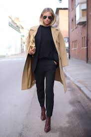 tine andrea is wearing shoes from alexander blazer from hugo boss top from