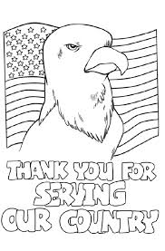 18 Free Veterans Day Coloring Pages Printable Thank You Sheets Of