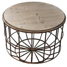 Staggering round iron coffee table image ideas azspring. Koji Accent Table Coffee Table Farmhouse Coffee Table Wood Metal Coffee Table