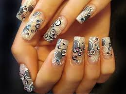 Decorative Nail Art Designs lust love selebritys Creative Decorative Nail Art Designs 100 pics 3
