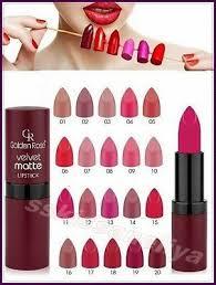 golden rose velvet matte lipstick soft