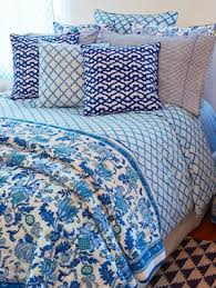 Roberta Roller Rabbit 1 & Blue + white = preppy heaven. Take a styling cue from the prepsters and  make your bed a mix of blues and whites. Think preppy stripes or toile--or  our ... Adamdwight.com