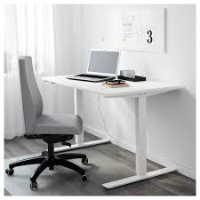 ikea skarsta desk sit stand adjule feet make the desk stand steady also on uneven