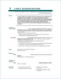 Examples Of Nursing Resumes New Registered Nurse Resume Sample Lovely Resume Writing Service Pour