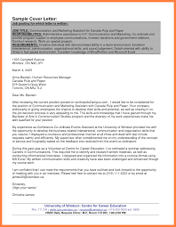 Sample Cover Letter For Government Job Glamorous Sample Cover Letter