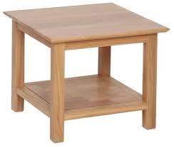 devonshire new oak coffee table small