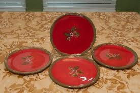 Set of 4 Tracey Porter Salad Plates from the Octavia Hill Collection | eBay