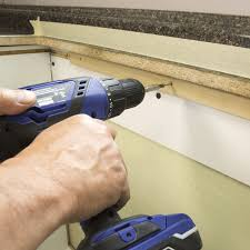 attaching additional support for the countertop before you attach your new laminate