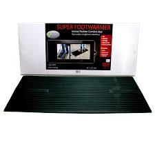 heated anti fatigue desk mats