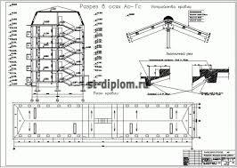 Диплом ПГС Реконструкция этажного жилого дома в г Краснодар План кровли