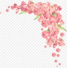 Flower Paper Clips Floral Wedding Invitation Background Png Download 1272