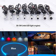 Fiber Optic Light Projector Us 6 14 Mini 3w 12v Car Led Fiber Optic Projector Light Source Engine For Car Interior Lighting Steps Decoration In Optic Fiber Lights From Lights