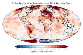 State Of The Climate 2019 Set To Be Second Or Third Warmest