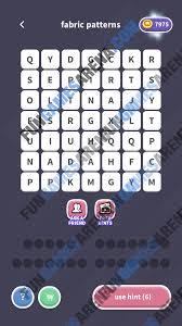 Patterns Word Whizzle Custom Design