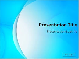 Blue Power Point Templates Download Light Blue Abstract Background Powerpoint Template