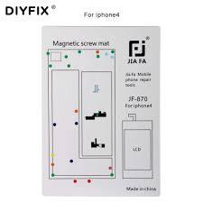 Diyfix 1pc Magnetic Screw Mat For Iphone 4 4s 5 5s 6s 6s