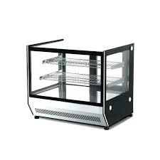 countertop pastry display case canada small refrigerator lockable glass door thermostatic cake refrigerated cabinet displa