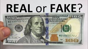 1 bill is real or fake