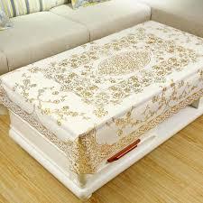 coffee table tablecloth lace european