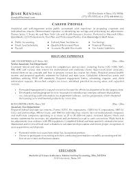 Accounting Associate Resume Tax Associate Cover Letter Public