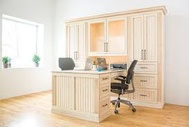 Custom His and Hers Desk traditional-home-office