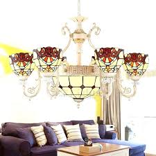 stained glass chandelier stained glass chandelier