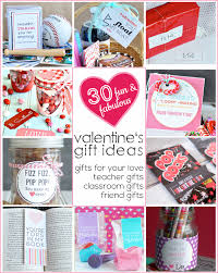 30 fabulous and fun Valentine's Day Gift Ideas - for your love, teacher  gifts,