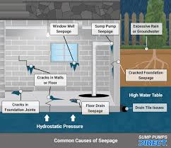 finding and fixing basement leaks how